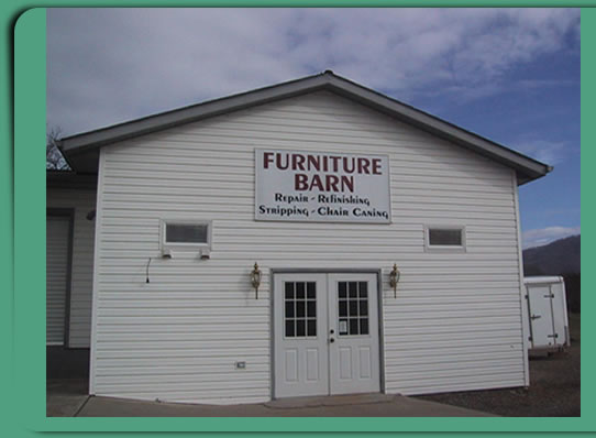 The Furniture Man: quality furniture repairs and chair canning.